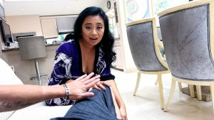 Asian Stepmom Lucky Starr Loves Son